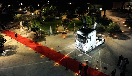 New Actros Premiére